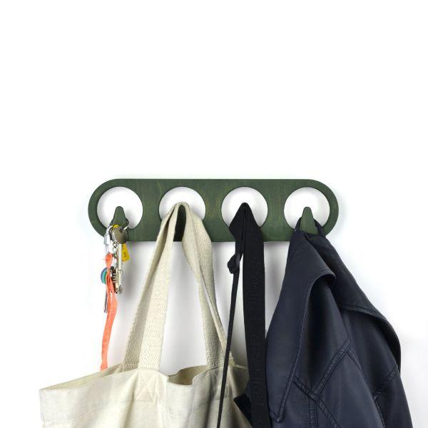 4-Bay Coat Hook