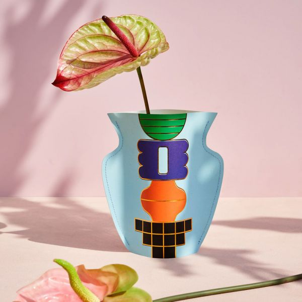 Mini Paper Vase