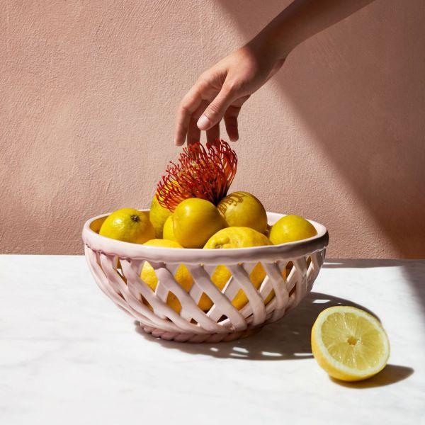 Sicilia Ceramic Basket