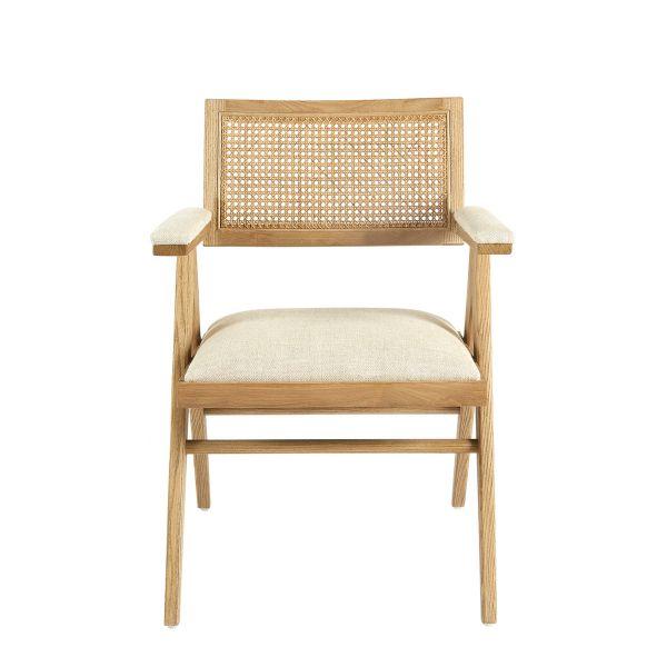 COLBY armchair high ecru