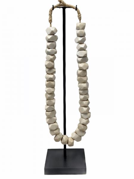 Kenya Beads - white