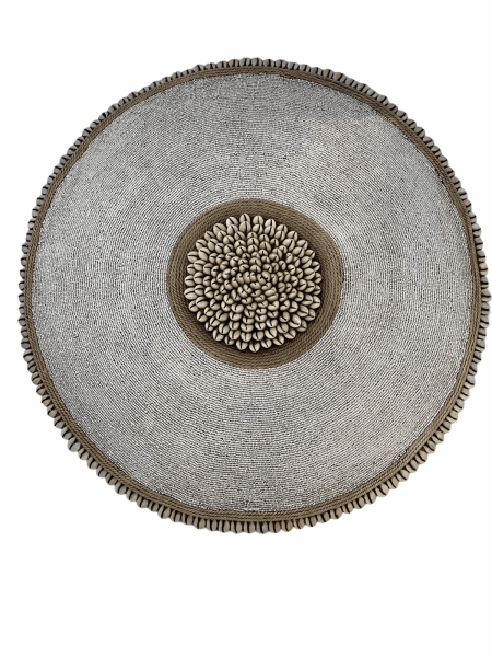 Cameroon Shield -  L - 55cm - White