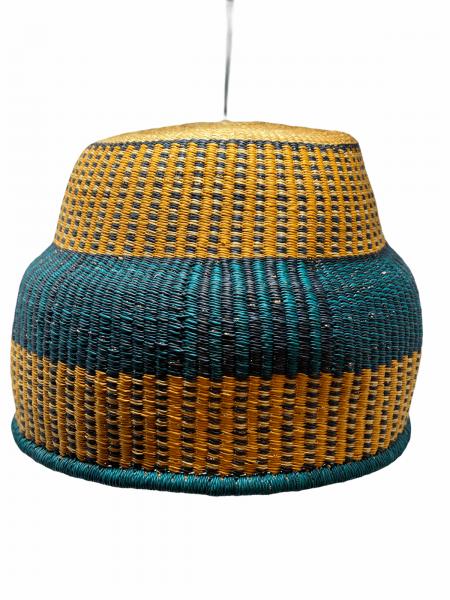 Hand Woven Basket Light