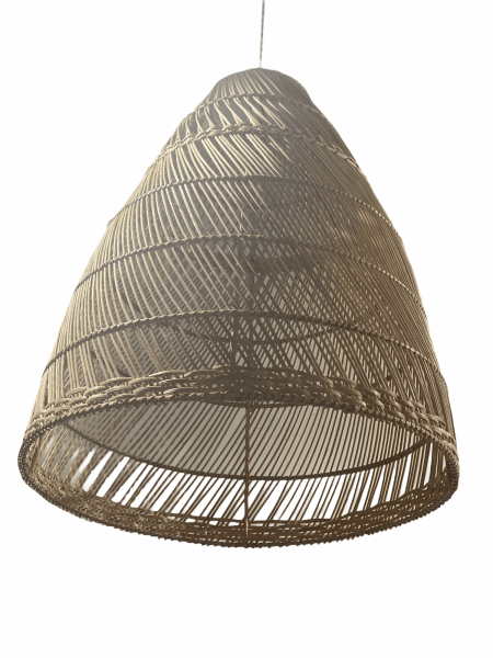 Rattan handmade Lights - Large