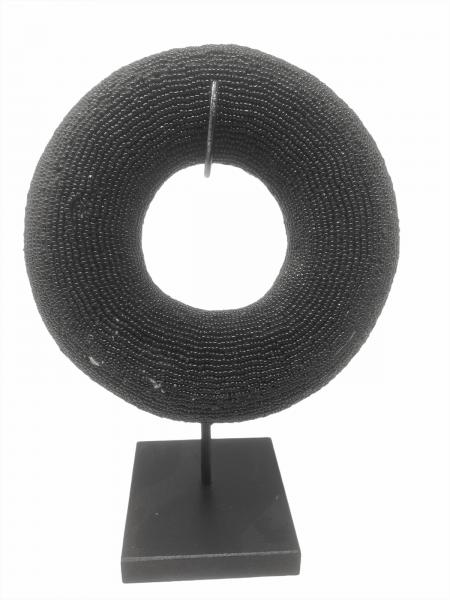 Cameroon beaded bracelet - Black
