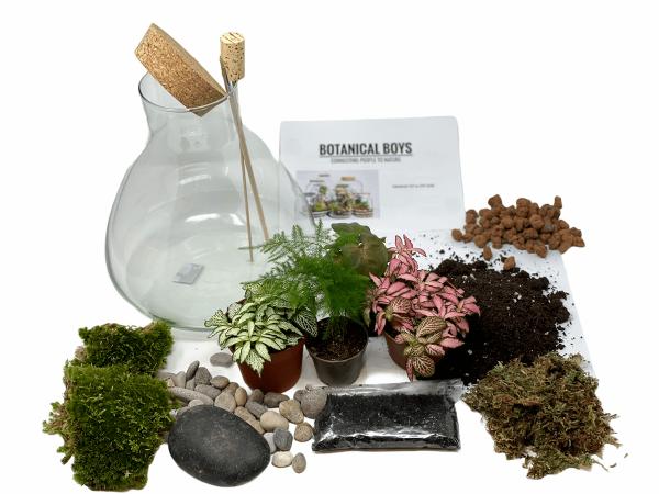 LAB Jar terrarium kit