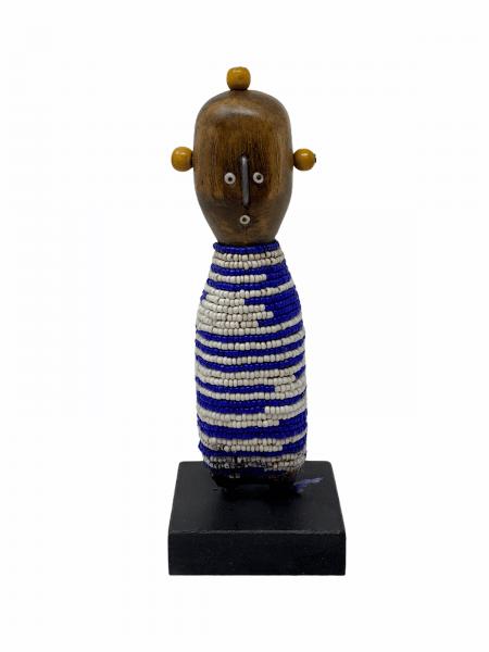 Namji Doll - Baby 17cm - Blue & White stripes
