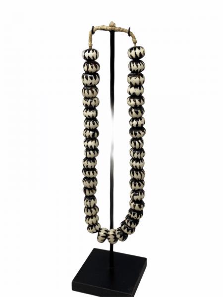 Kenya Beads - Black & White