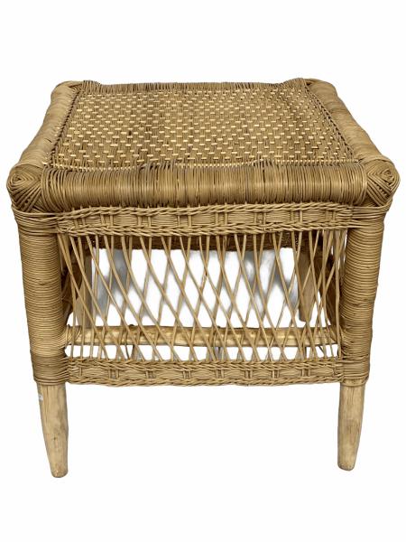 Malawi Rattan side table - handmade