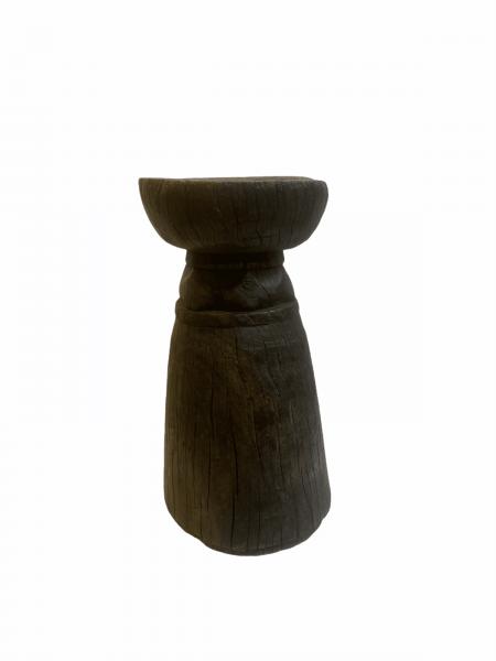 Lozi Grain Stomper (2) Stool/Side Table - Zambia