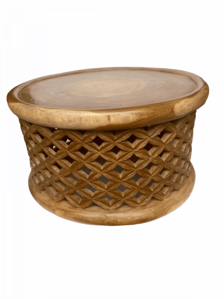 Bamileke Table - 78cm - Natural- Large