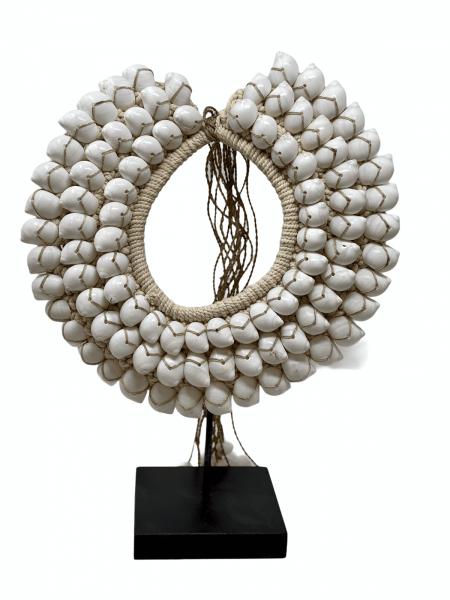Handmade White Shell Necklace