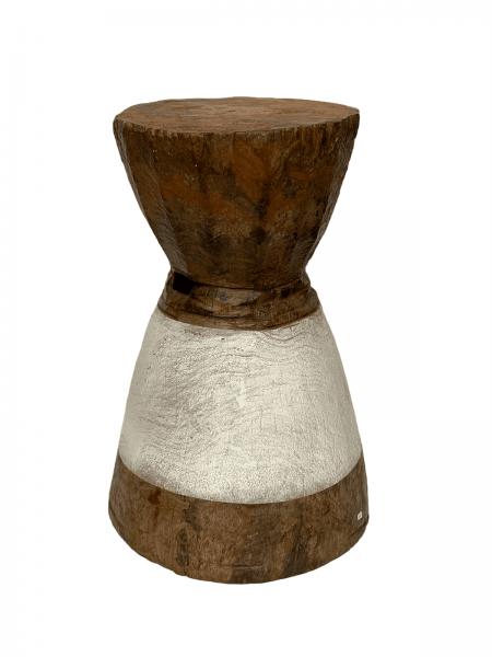 Lozi Grain Stomper Stool/Side Table - Zambia
