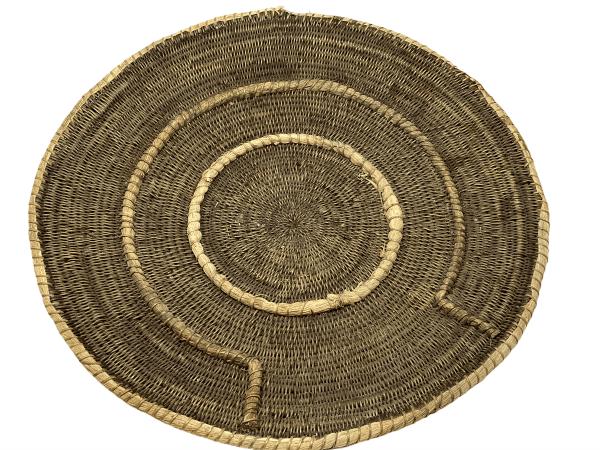 Vintage Makenge Basket - Zambia