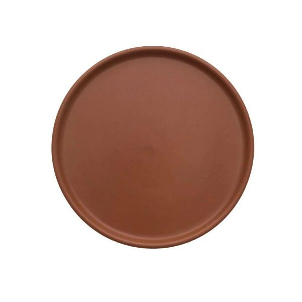 """INKA"" LUNCH / DESSERT PLATE - CARAMEL - BY OYOY plate OYOY"