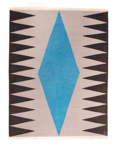 Interior Blue Carpet