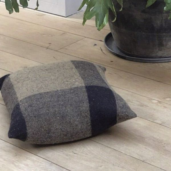 IRISH TWEED CUSHION - SMALL VINTAGE MOTLEY - BY FORESTRY WOOL cushion FORESTRY WOOL