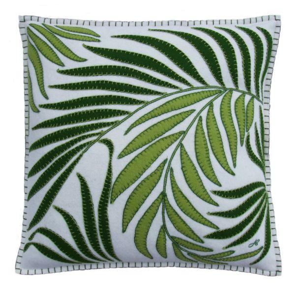 Jan Constantine Tropical Palm Cushion