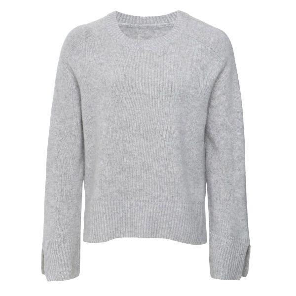 Cashmere Sweatshirt in Foggy