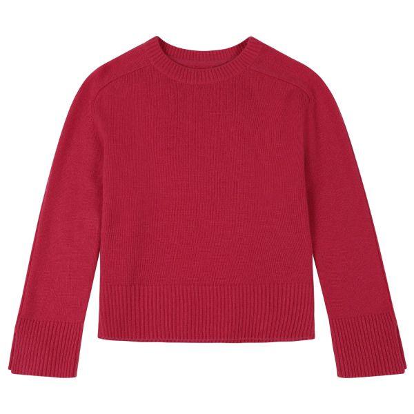 Cashmere Sweatshirt in Hibiscus
