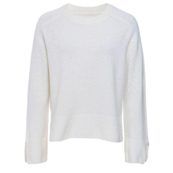 Cashmere Sweatshirt in Snow