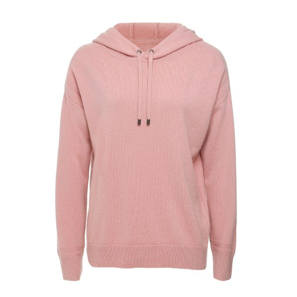 Cashmere Hoody in Clay