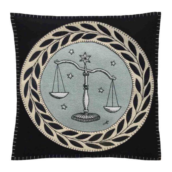 The Jan Constantine Zodiac Cushion - Libra