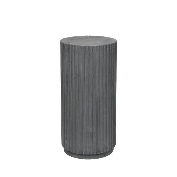 Rillo Medium Charcoal Fibreclay Podium