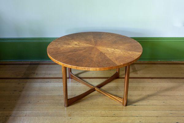 MID CENTURY SUNBURST COFFEE TABLE