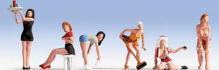 Sexy Ladies (x6) Figure Set