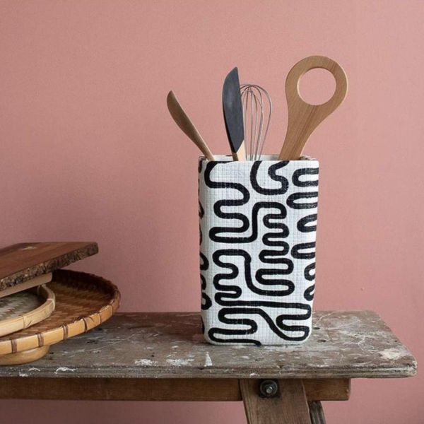 NOODLE UTENSIL POT - BY HANNAH DRAKEFORD DESIGN utensil pot HANNAH DRAKEFORD DESIGN