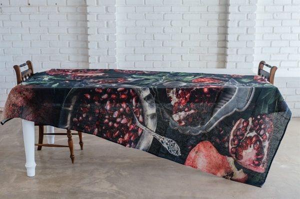 Tablecloth - Baking Tray with Pomegranate