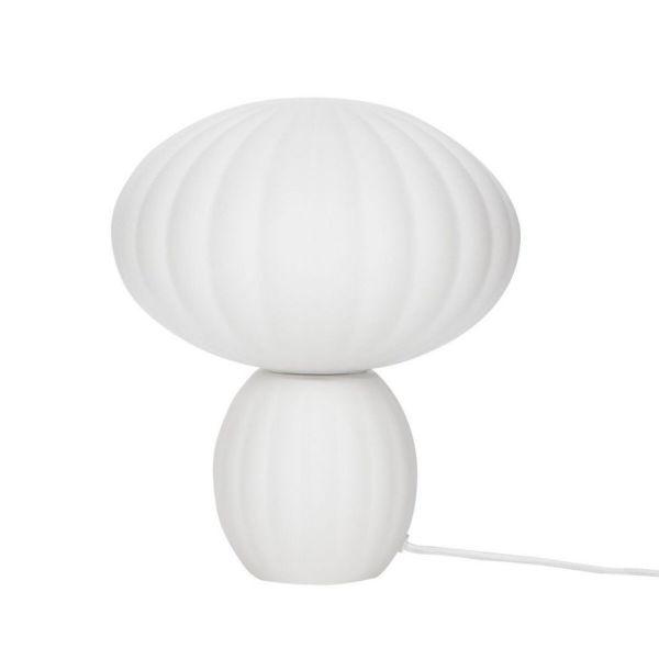 Opal Glass Urchin Table Lamp