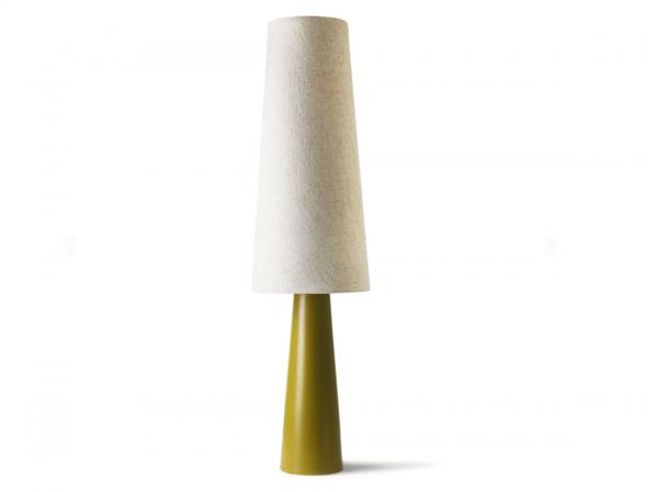 RETRO CONE FLOOR LAMP XL - GREEN CREAM - HK LIVING I am Nomad