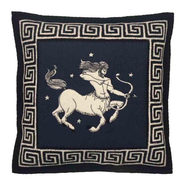 The Jan Constantine Zodiac Cushion - Sagittarius