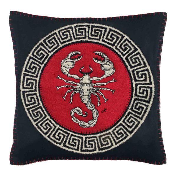 The Jan Constantine Zodiac Cushion - Scorpio