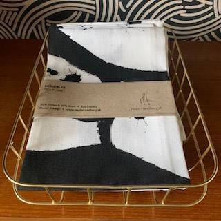 Scribbles Tea Towel
