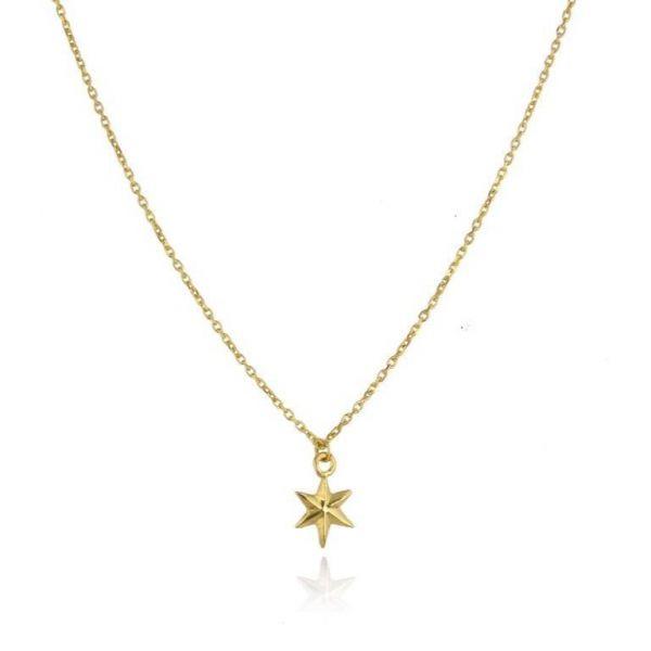 Momocreatura Gold Mini Star Necklace