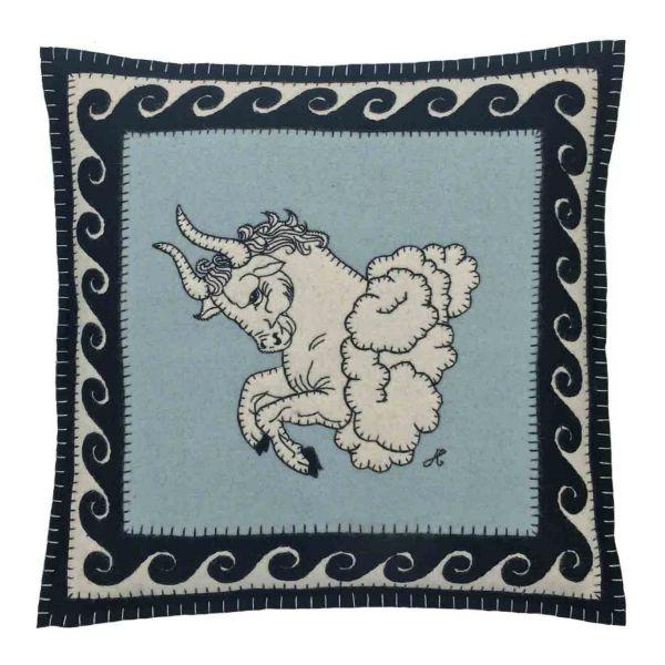The Jan Constantine Zodiac Cushion - Taurus