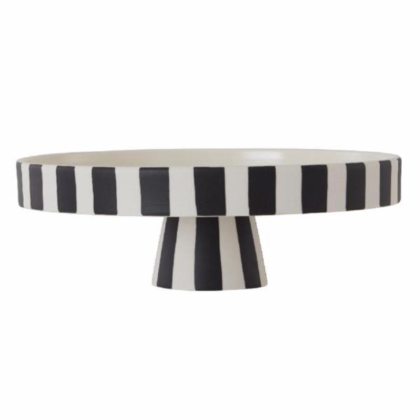 Toppu Cake Stand | Black & White | small