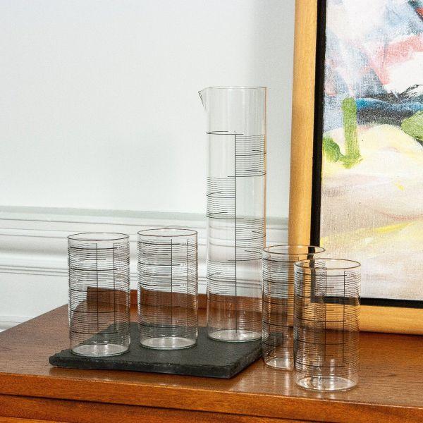 0,5L Glass Set of 4