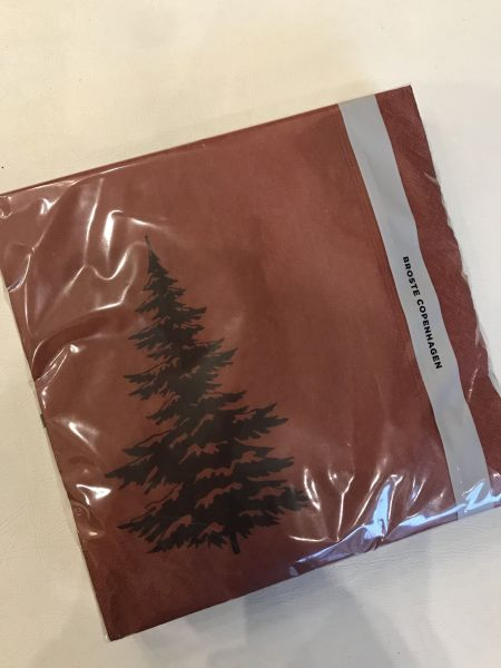 """TREE"" NAPKINS - BY BROSTE COPENHAGEN Napkins BROSTE COPENHAGEN"