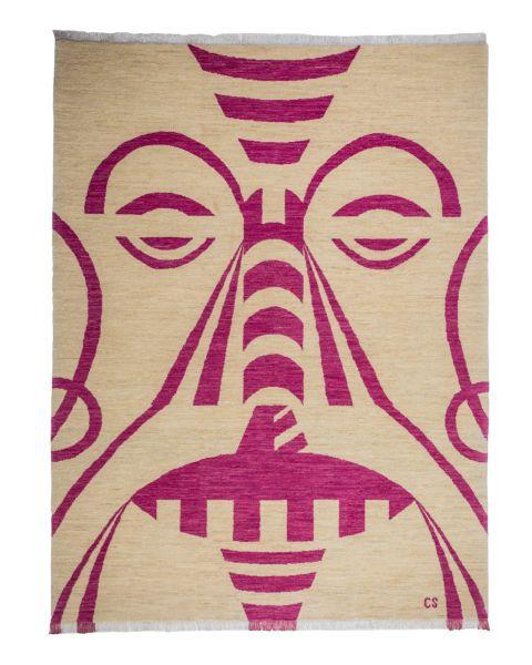 Tribal Pink Carpet
