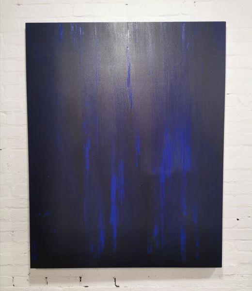 UNTITLED - ULTRA MARINE BLUE - BY DANIEL MACDONALD Art DANIEL MACDONALD