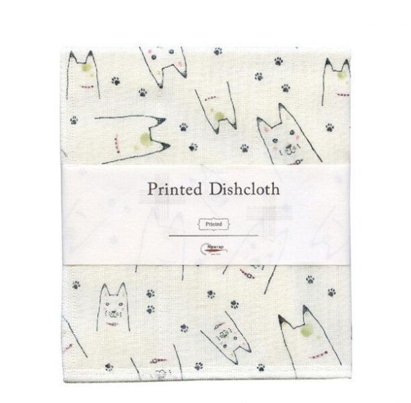 NAWRAP Printed Dishcloth Animal