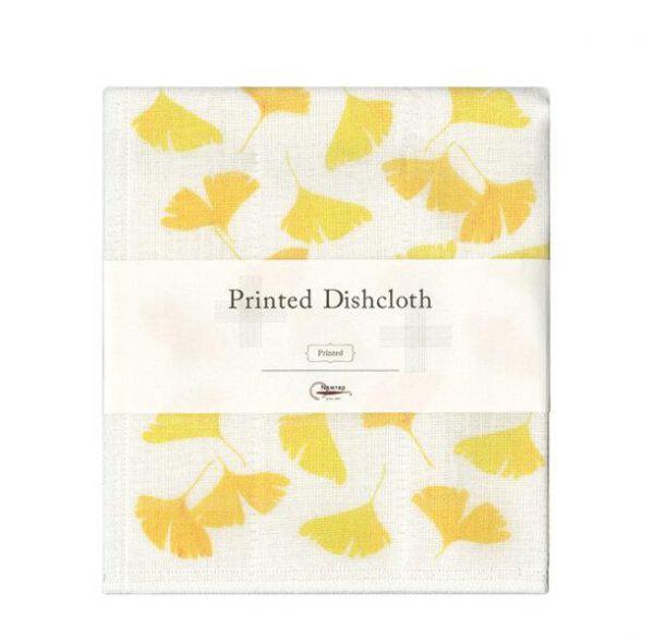 NAWRAP Printed Dishcloth Ginkgo