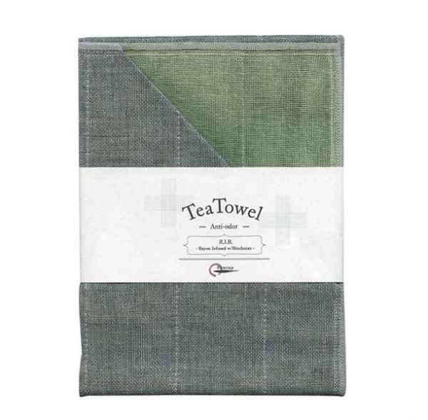 NAWRAP Tea Towel Anti-odor R.I.B. Pistachio