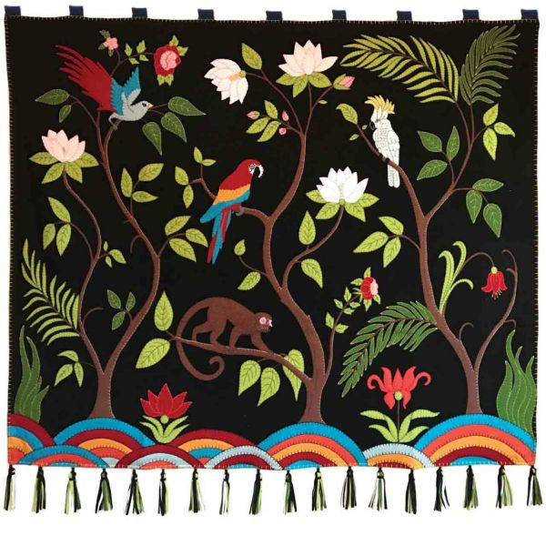 Jan Constantine Tropical Paradise Wall Hanging